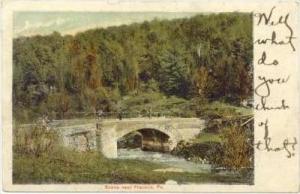 Stone Bridge , Franklin, Pennsylvania, PU-1907