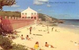 Elbow Beach Surf Club Bermuda Postal used unknown