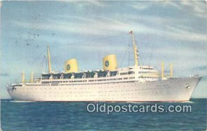 MS Gripsholm Swedish American Line Ship 1958