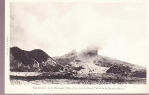 Mt. Pelee Eruption in Haute Vallee de la Rurere Blanche