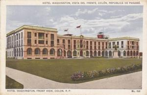 Front View, Hotel Washington, Colon, Republic of Panama 1910-20s