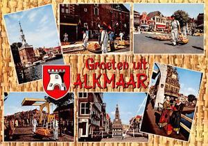 Alkmaar Holland Groeten uit Alkmaar Groeten uit