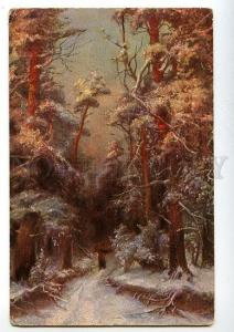 131368 WINTER Forest by KLEVER vintage Colorful PC