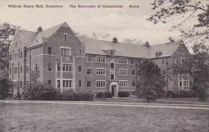 Connecticut Storrs The William Henry Hall Dormitory The University Of Connect...