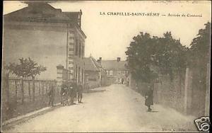 france, CHAPELLE SAINT REMY, Arrivée de Connerré 1910s