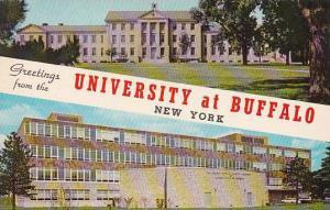New York BuffaloGreetings From The University Of Buffalo