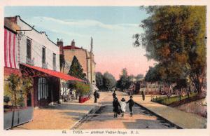 Avenue Victor Hugo, Toul, France, Early Postcard, Unused
