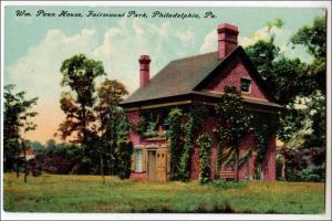Wm Penn House, Fairmount Park, Philadelphia PA   (crease)
