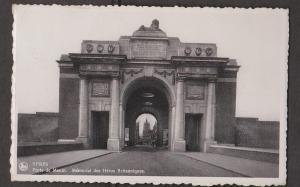 Menin Gate Memorial To British Heros, Ypres, Belgium - Real Photo - Used 1937