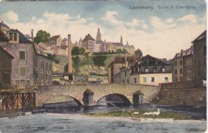 LUXEMBOURG, Luxembourg, 1900-1910's; Grund & Ville Haute
