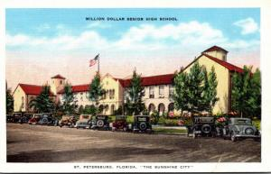 Florida St Petersburg The Million Dollar High School 1937
