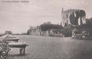 Shanes Castle Antrim Cannon Cannons Artillery View Antique Irish Irelan Postcard