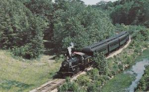 Steam Train near Essex CT - Connecticut River Valley Railroad