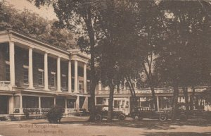BEDFORD SPRINGS , Pennsylvania , 1919; Bedford Springs Hotel