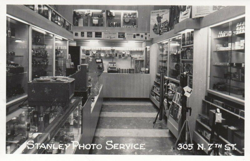 RP: Stanley Photo Service , Store Interior , 1940-50s