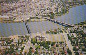 Canada Aerial View Saskatoon Saskatchewan