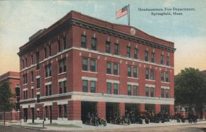 SPRINGFIELD , Massachusetts, 00-10s ; Fire Department Headquarters