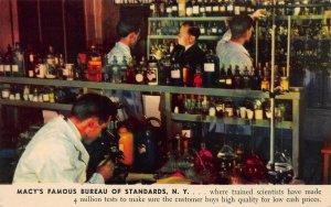 Macy's Famous Bureau of Standards, New York City,  Early Postcard, Unused