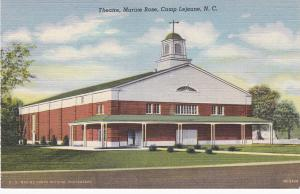 Theatre , Marine Base , Camp Lejeune , North Carolina , 30-40s