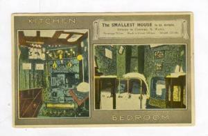 Smallest House in Great Britian, Situate, Conway, North Wales, UK, 00-10s