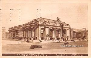Grand Central Depot New York City NY 1911