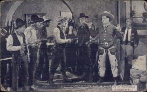 Cowboy Actor Pete Morrison Exhibit Arcade Card