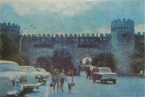 Postcard Azerbaijan BAKU Shemakha gates of the fortress view