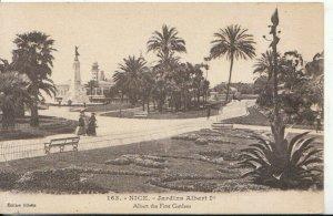 France Postcard - Nice - Jardins Albert 1st - Albert The First Gardens Ref 7887A