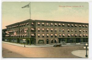 Osborne House Hotel Auburn New York 1910c postcard