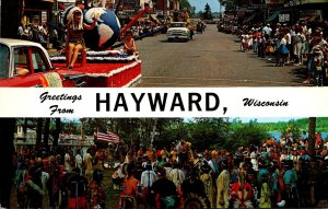 Wisconsin Greetings From Hayward The Musky Capitol Of The World