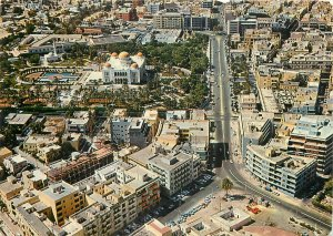 Postcard Libya Tripoli panoramic view
