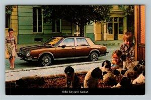 1980 Buick Skylark Sedan Chrome Postcard