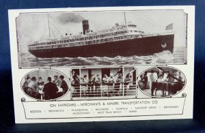 Merchants and Miners Transportation Co. - On Shipboard