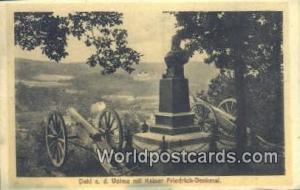 Friedrich Denkmal, France, Carte, Postcard Dahl a d Volme mit Kaiser Friedric...