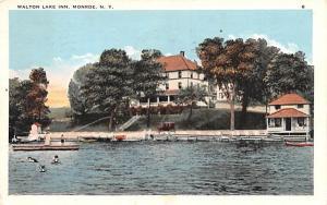 Walton Lake Inn Monroe, New York Postcard