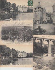 CASTELLUX YONNE (DEP.89) BOURGOGNE 45 Cartes Postales 1900-1940