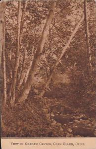 Scenic view in Graham Canyon, Glen Ellen,  California, PU-1912