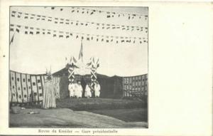 algeria, KREIDER Revue, Gare Presidentielle (1903)