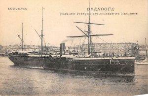 uk42968 messageries maritimes orenoque  cruise liner paquebot