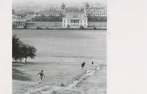 Old Royal Naval College Greenwich Park 1950s Award Photo Postcard