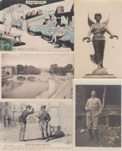 MILITAIRE  MILITARY 633 Cartes Postales Mostly 1900-1940