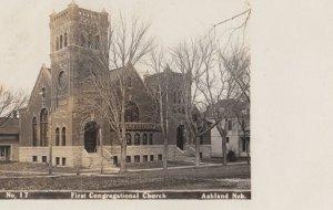RP: ASHLAND , Nebraska , 1908 ; First Congregational Church