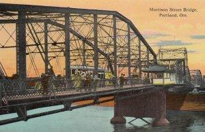 PORTLAND , Oregon , 00-10s ; Morrison Street Bridge