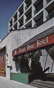 KEWOWNA, British Colubia, Canada, PU-1984; Royal Anne Hotel