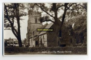 cu0246 - Parish Church , Crawley , Surrey - postcard