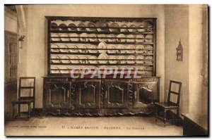 Old Postcard Bayonne Basque Museum The kitchen