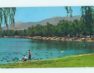 Pre-1980 LAKE SCENE Reno Nevada NV hp6207