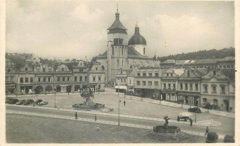 Postcard Czech Republic Nem Brod view