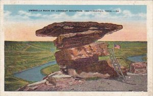 Umbrella Rock On Lookout Mountain Chattanooga Tennessee