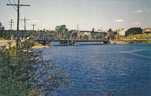 Sydney River Bridge , SYDNEY , Nova Scotia , Canada , 50-60s